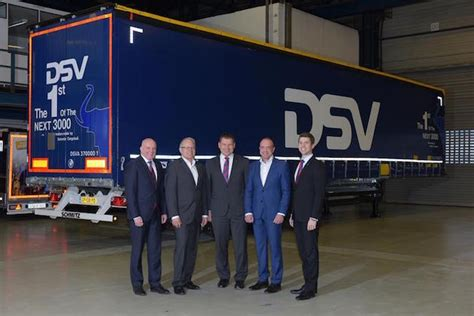 Bor Schmitz dsv orders another 3 000 trailers from schmitz cargobull global trailer