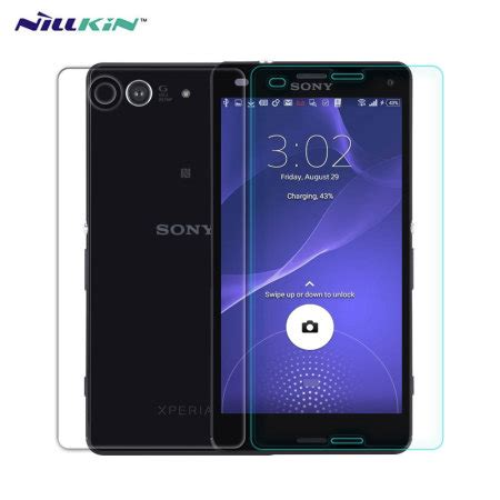 Nillkin H Plus Tempered Glass Screen Sony Xperia Z4 Z3 Plus Dual nillkin h 9h tempered glass sony xperia z3 compact screen protector