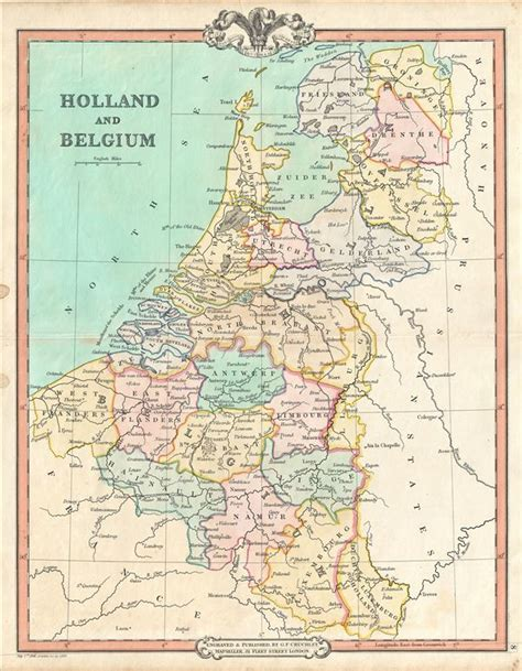map of netherlands belgium and and belgium geographicus antique maps