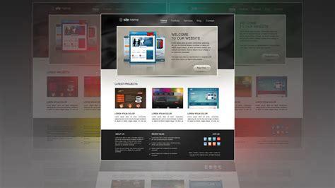 Photoshop Tutorial Web Design Template Portfolio Youtube Photoshop Portfolio Template