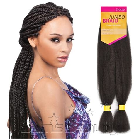 kanekalon hair outre synthetic hair braids kanekalon jumbo braid
