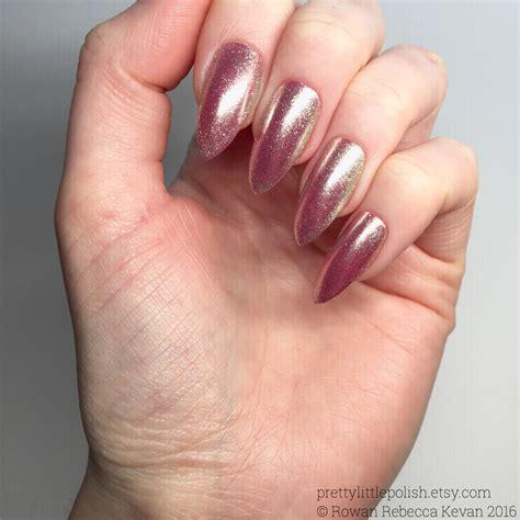 chrome nails pink chrome nails luxury nails chrome stiletto nails fake