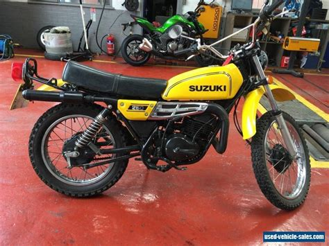 Ts 250 Suzuki For Sale 1977 Suzuki Ts250 For Sale In The United Kingdom