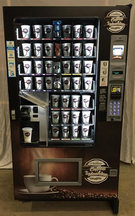Coffee Vending Machine vending machine with built in keurig coffee machine http