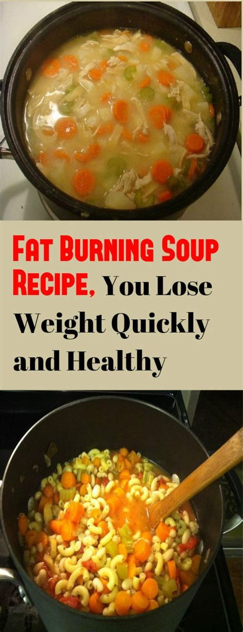 Ultrashape Lose Weight Burn Without A Diet by Burning Soup Recipe You Lose Weight Quickly And