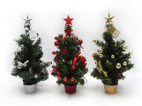 christmas tree table top battery operated 43cm