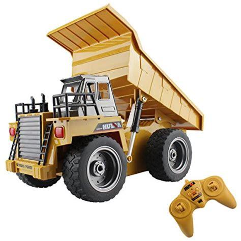 0960030262 3 Truck Remote Import 6 Ch 2 4g Alloy Remote Dump Truck 4 Wheel Driver