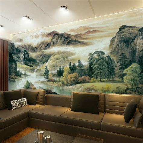 high quality the spectacular landscapes mural wallpaper