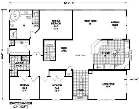 triple wide manufactured home floor plans modular triple wide home floor plans and galleries joy