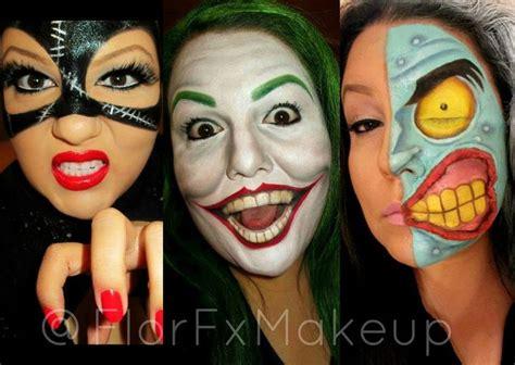 imagenes joker caritas catwoman joker two face lady war paint pinterest