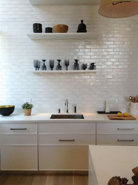 White Metro Tiles Kitchen - mad about metro tiles mad about the house