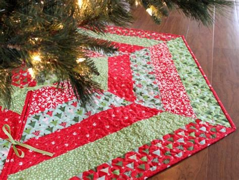 Patchwork Tree Skirt Pattern - jolly tree skirt pattern tree skirts