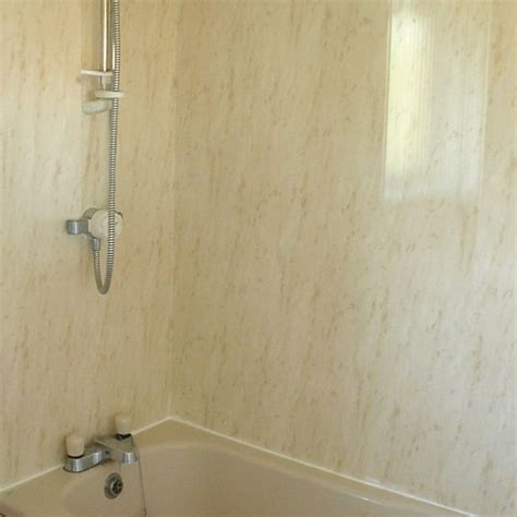 bathroom wall shower panels firenze beige marble effect panels from the bathroom marquee