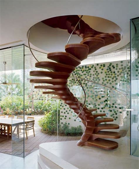 Circular Stairs Design 10 The Most Cool Spiral Staircase Designs Digsdigs