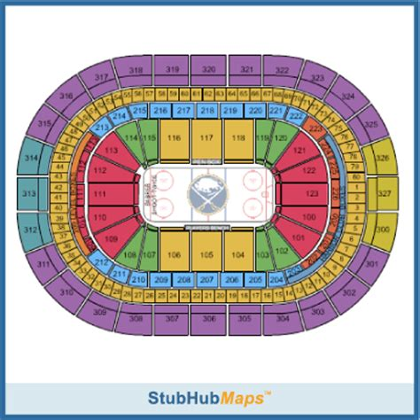 first niagara center formerly hsbc arena seating chart keybank center seating chart pictures directions and