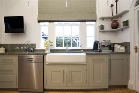 classic grey kitchen in a period property kitchen sourcebook