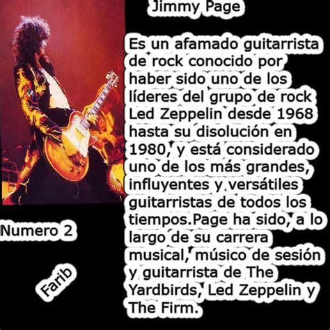 Los 30 Mejores Guitarristas De La Historia Del Rock Rock | los 30 mejores guitarristas de la historia del rock rock