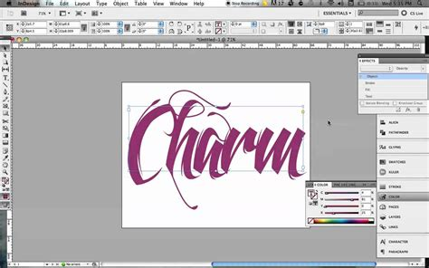 typography tutorial indesign 3d typography effect in indesign youtube