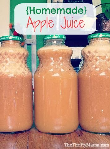 apple juice thrifty