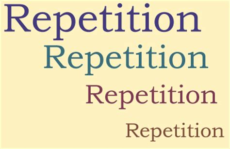 design repetition definition effective design principles for web designers repetition