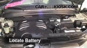 how to clean battery corrosion 2007 2012 hyundai santa fe