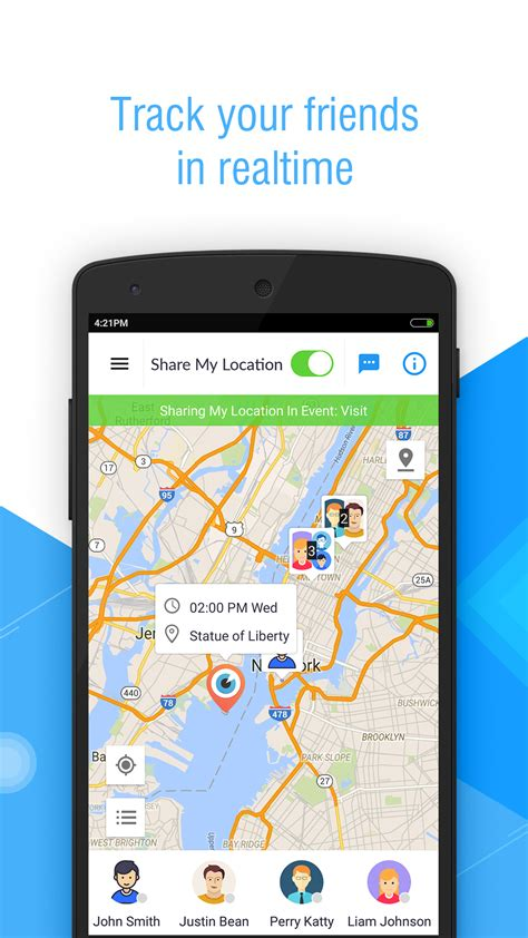 ustv android edition friend locator