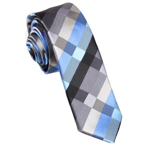 pattern blue tie black grey silver blue pattern skinny tie thin narrow