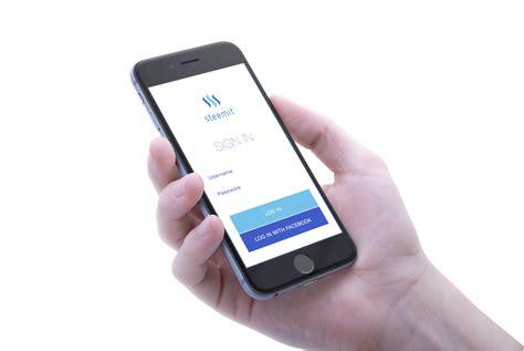 design proposal app steemit ios app design proposal steemit