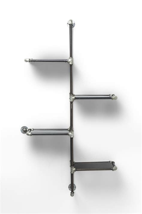 iron wall shelf detour half by kare design