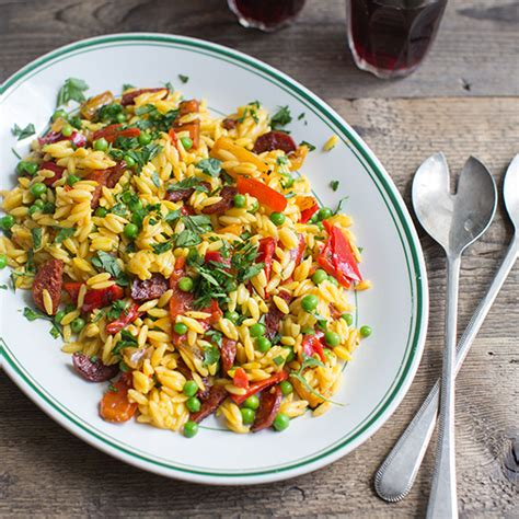 spanish salad spanish paella style salad recipe anne faber food wine