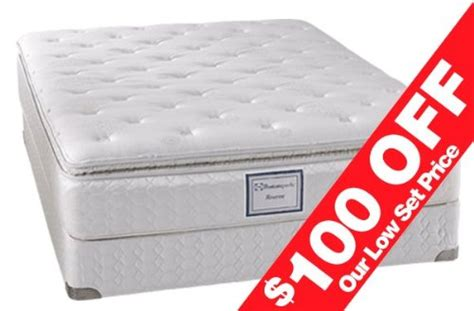 Sealy Posturepedic Mattress Reviews 2011 by Springs Pillow Top Low Profile King Set Sealy Mattress