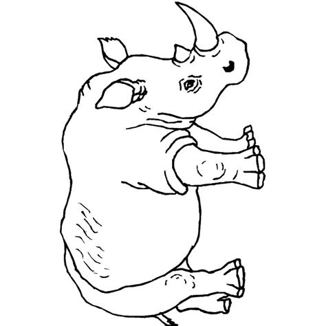 rhino coloring page rhino coloring pages coloring pages