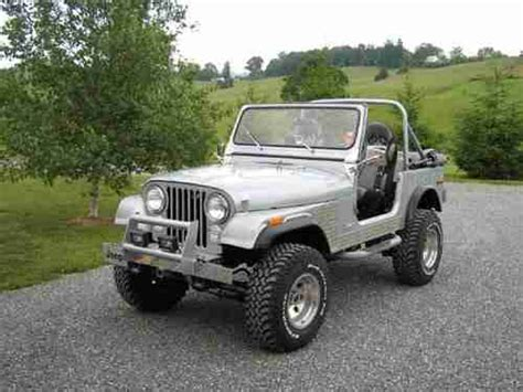 Buy Modified Jeep Buy New Restored Modified 1979 Cj7 Jeep Only 500