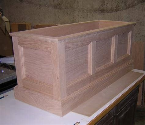 build toy chest  woodworking