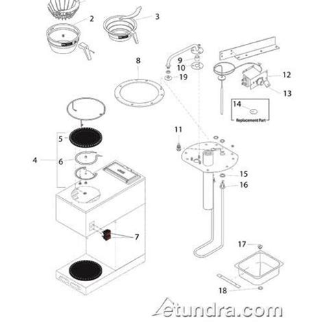 wiring diagram for bunn coffee maker wiring diagram