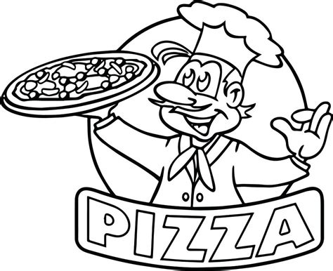 coloring pages for your terrific pizza coloring pages 65 for your