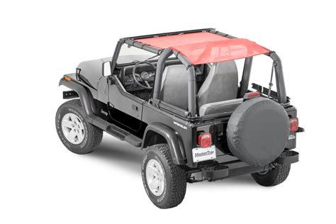 Bimini Top Jeep Mastertop 174 Shademaker Bimini Top Plus For 92 06 Jeep