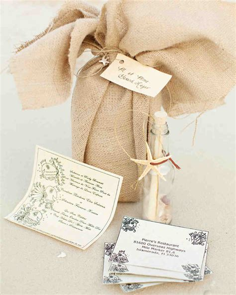 wedding invitations that set the mood for a seaside celebration martha stewart weddings