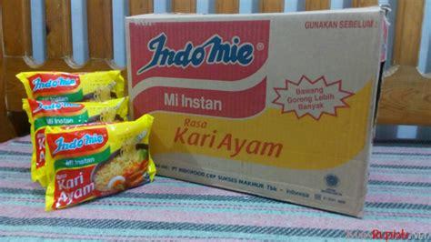 Indomie Rasa Special 1 Dus tersedia varian rebus goreng harga 1 dus indomie mulai rp 77 ribuan kursrupiah net