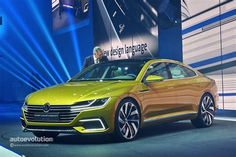 volkswagen sports 2015 vw sport coupe concept gte revealed with v6 turbo