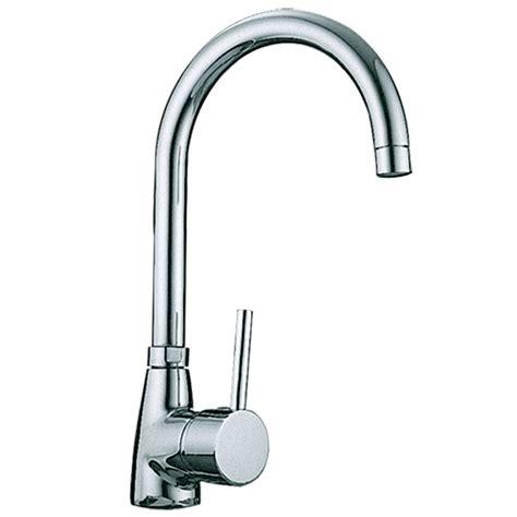 kadaya chrome single lever swivel spout kitchen sink mixer