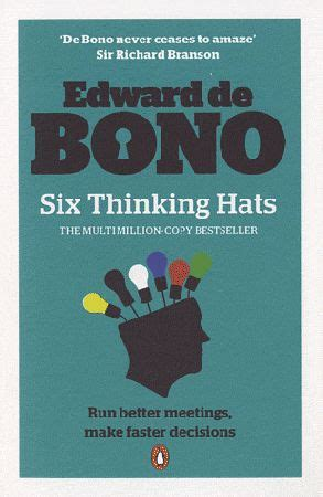 11 Edward De Bono Text Masterpiece 17 best images about six hats critical thinking on student centered resources