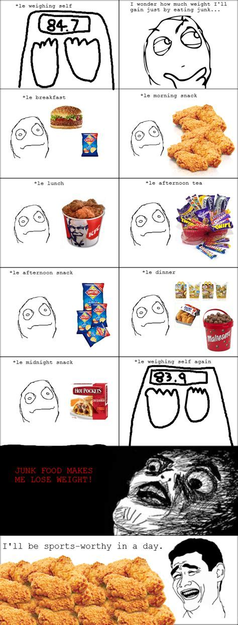 Rage Comics: Junk Food by CampLazloRocks1 on DeviantArt