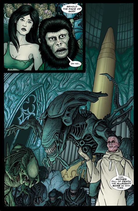 freeman utated vs predator beneath the planet of the apes by