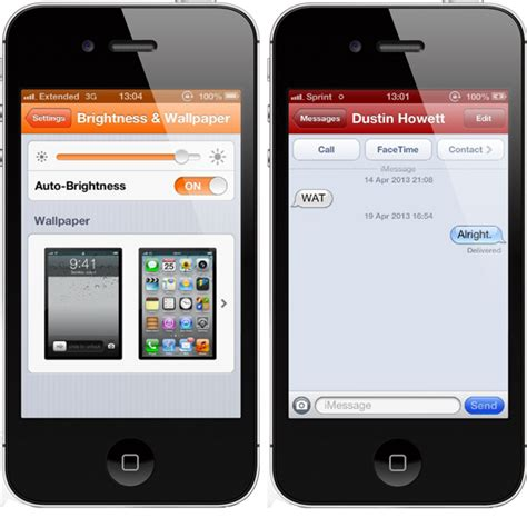 How To Change Themes For Iphone 5 | change the default ios theme color on iphone with
