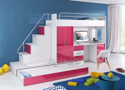 Schreibtisch Für 2 Personen by Alta 5 Bunk Bed High Sleeper Wardrobe Desk Bed Children