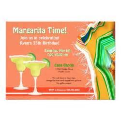 chic and contemporary margarita 5x7 paper invitation card zazzle