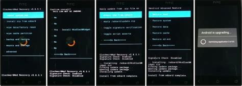 tutorial flash htc one x how to flash clockworkmod touch recovery on htc one v