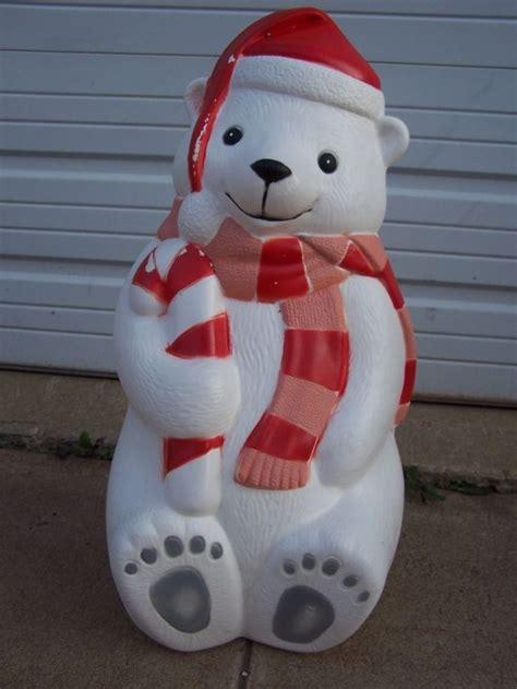42 christmas blow mold yard decor 28 quot teddy polar bear