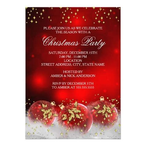550 best christmas holiday party invitations images on